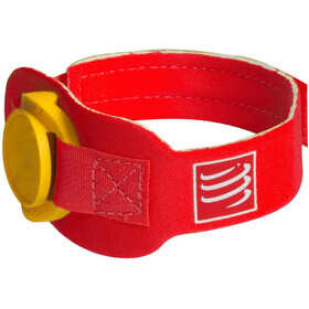 Compressport Timing Chipband rød
